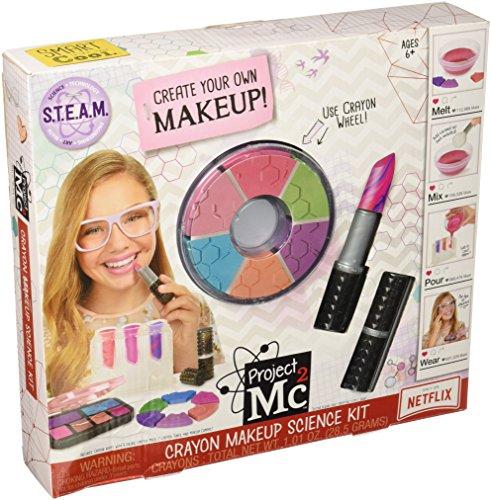 MGA Entertainment Project Mc2 Crayon Makeup Science Kit - Juguetes y Kits de Ciencia para niños (Beauty, 6 año(s), Chica, Multicolor, CE, 4864 Pieza(s))