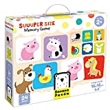 Banana Panda - Suuuper Size Memory Game - Educational Game for Kids Ages 2 Years...
