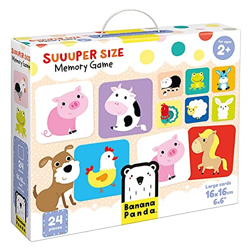 Suuuper Size Memory Age 2+ Game