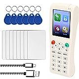 KKmoon Handheld Key Machine iCopy 5 with Full Decode Function Intelligent Card Key Machine RFI-D NFC Copier IC/I-D Reader Writer Duplicator