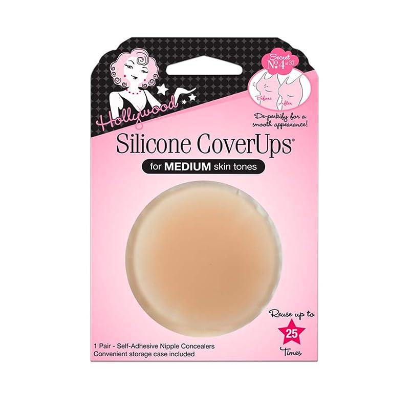 仮装始まり暴力HOLLYWOOD FASHION SECRETS Silicone CoverUps - Medium Skin Tone (並行輸入品)