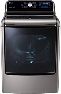 LG DLEX7700VE SteamDryer 9.0 Cu. Ft. Graphite Steel With Steam Cycle Electric Dryer