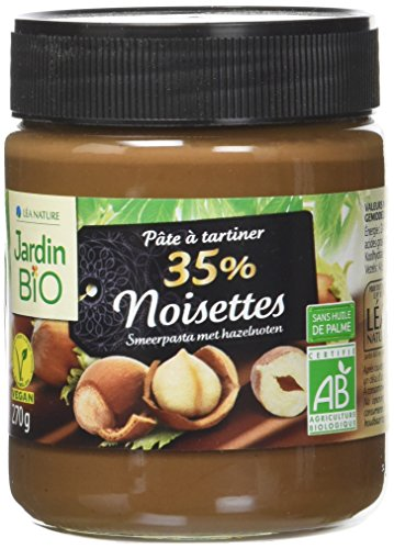 Jardin BiO étic Pâte à tartiner 35% Noisette