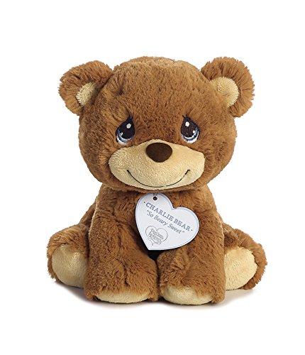 """Aurora - Precious Moments - 8.5"""" Charlie Bear - Small (Brown Bear)"""