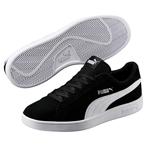 Puma Smash v2 Zapatillas Unisex adulto, Negro (Puma Black-Puma White-P