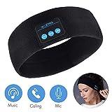 Auriculares de Dormir Bluetooth 5.0 Sleep Eye Mask, 3D Sleepphones inalámbricos Sleeping Travel Music Eye Cover con altavoz estéreo HD ultrafino (diadema)