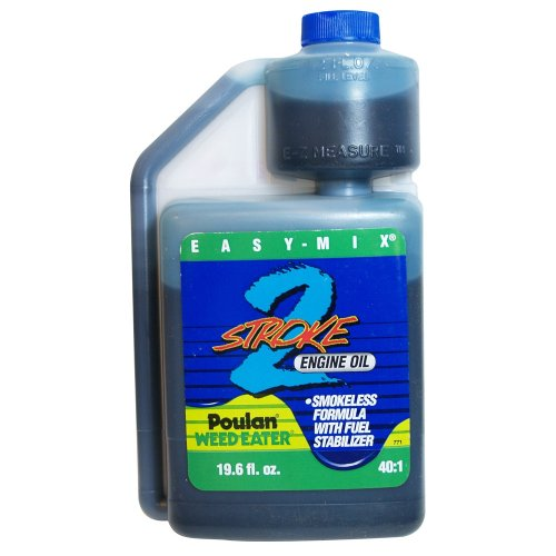 Poulan/Weedeater 2-Cycle EZ Mix Oil, 19.6-Ounce