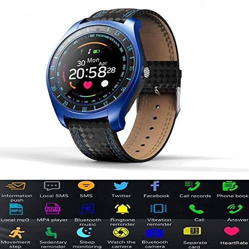 DUANCHUN Smartwatch Smartwatch Smartwatch mit 2 GB SIM-Karte, Schrittzähler, Herzfrequenz-Monitor, Armbanduhr und Kamera