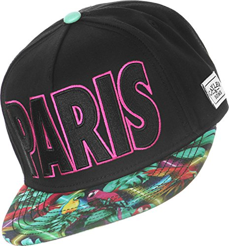 Cayler And Sons - Casquette Snapback Homme Paris Life Cap - Black / Mc