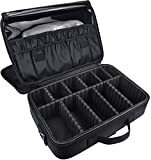 DCCN Train Malette de Maquillage Professionnel Beauty Case 3 couche, Coffret Sac...