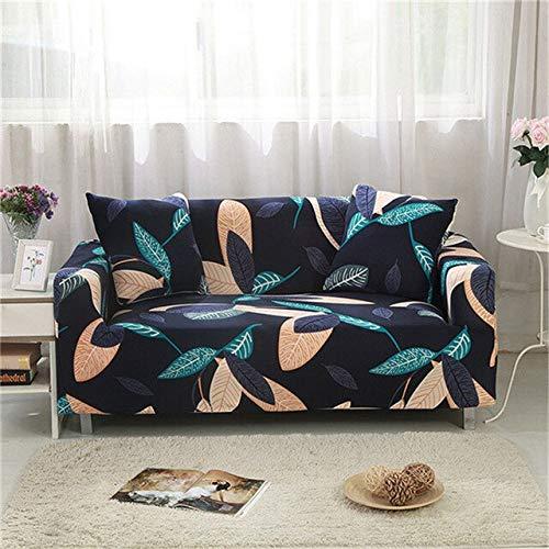 WXQY Einfache elastische Sofaschutzhülle All-Inclusive rutschfeste Sofaschutzhülle Kombination L-förmige Ecksofabezug A15 4-Sitzer