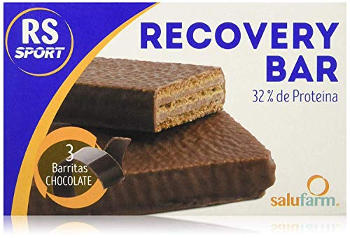 Salufarm Rs Sport Whey Recovery Bar Chocolate Pack 3 x 35 g - 1 stuk
