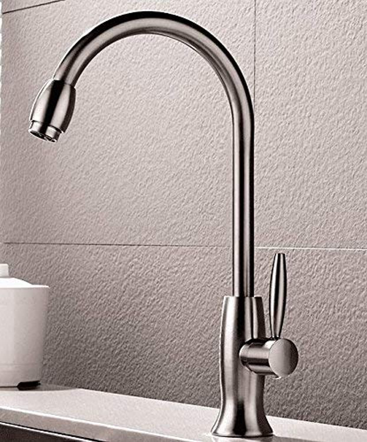 Oudan Sink Taps Single cold copper redating kitchen ceramics Single handle Single hole