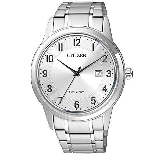 CITIZEN Herren Analog Quarz Uhr mit Edelstahl Armband AW1231-58B