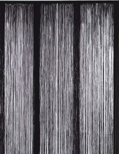 Bacati - Black String Panel