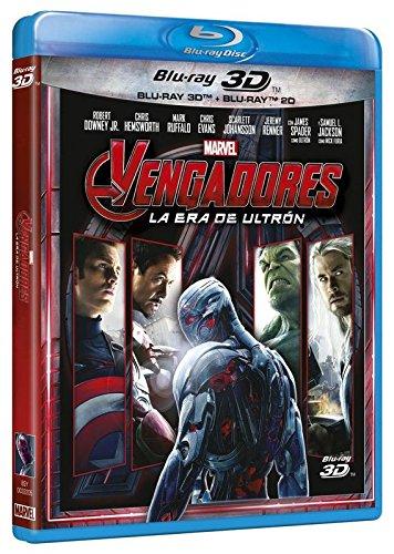 Vengadores: La Era De Ultrón (BD 3D + 2D) Blu-ray