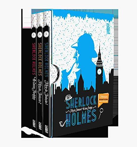Box - Sherlock Holmes - A Arte da dedução & Os casos Pedidos: Mais de 200 enigmas Inspirados no maior detetive de todos os tempos