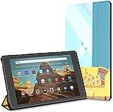 Estuche para arreglo de Sala de Estar Tableta Fire HD 10 (9.a / 7.a generación, versión 2019/2017) Fundas y Cubiertas para Kindle Fire10 Estuche de protección para Kindle Auto Wake/Sleep para Table
