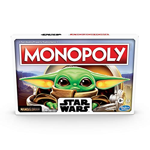 Monopoly: Star Wars The Child Edition Board Game for Families and Kids Ages 8 and Up, Featuring The...