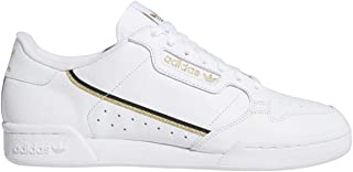 adidas Originals Men's Continental 80 Sneaker (Cloud White/Core Black/Gold Metallic, Numeric_8_Point_5)