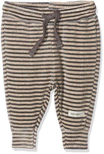 Papfar Unisex Baby Soft Velvet Jogginghose, Mehrfarbig (Chateau Grey 417), 56 (Herstellergröße: 0M)