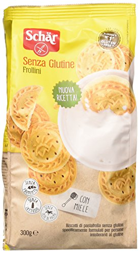Frollini Biscotti di Pastafrolla senza Glutine 300 G