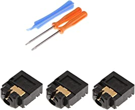 3 x 3.5mm Headset Headphone Jack Plug Port Connector Socket Replacement + T6 T8 Screwdrivers for Xbox One Slim S Wireless Controller Repair Part