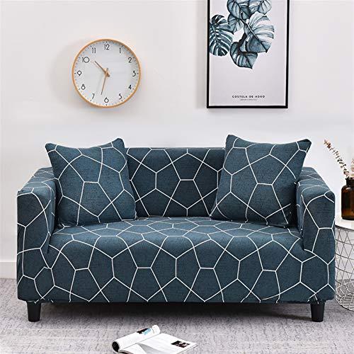 kengbi Einfach zu installierender und bequemer Sofa Sofa-Cover, elastische Sofa-Slipcovers Moderne Sofa-Cover für Wohnzimmer Sektionale Ecke L-Form-Stuhl-Protektor Couch Cover 1/2/3/4 Sitzer