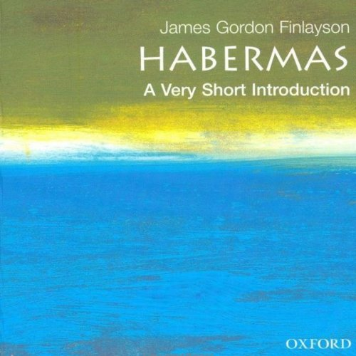 Couverture de Habermas: A Very Short Introduction
