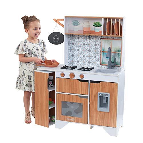 Kidkraft - Taverna Cucina Giocattolo in Legno con Luci e Suoni e EZ Kraft Assembly, 53440