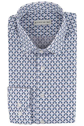 Etro Herren Hemd mit Hirschmotiven - 45