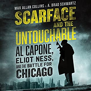 Scarface and the Untouchable audiobook cover art