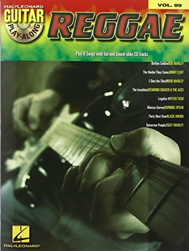 Guitar Play-Along Volume 89: Reggae: Noten, CD für Gitarre