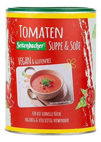 Seitenbacher Tomaten Sauce, Schnelle Suppe Vegan, 400 g