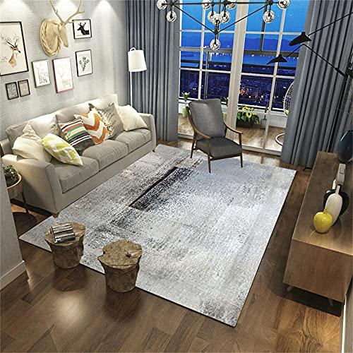 Terrasse Exterieur Tapis Enfant Chambre Tapis de ménage Gris, Tapis de Velours en Cristal, Salon, Chambre pour Enfants, antidérapant et durableTapis IKEA 50x80cm