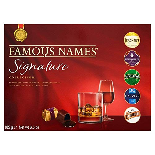 Bombones con Licor The Signature Collection, de Elizabeth Shaw-Famous Names - Referencia 165G