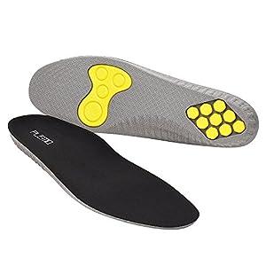 Plemo Plantillas Zapatos IS-01W de Gel Amortiguadoras, Cómodas, Antibacteriana y Flexibles, 1 Par, Talla Única, Tras Recortar desde el Número 36 al 40