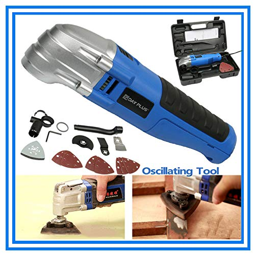 Check Out This DIY Oscillating Multi Tool, Versatile Tool for Cutting, Sanding & Grinding, 180W Blad...