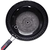 """Anck 5"""" Chainmail Scrubber, Cast Iron Cleaner for Cast Iron, Stainless Steel, Hard Anodized Cookware and Other Pots & Pans"""