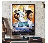 KUANGXIN Slumdog Millionaire Movie Offizielles Cover Poster