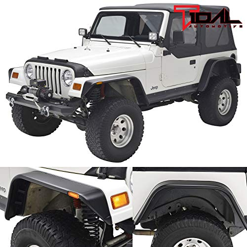 jeep yj front fender flares - 9
