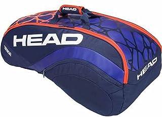 HEAD(ヘッド) RADICAL 9R SUPERCOMBI ラケットバッグ 9本収納可 ブルー×オレンジ 283358-BLOR