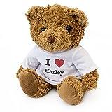 London Teddy Bears Orsacchiotto con Scritta I Love Harley, Carino e Morbido, Idea Regalo per...