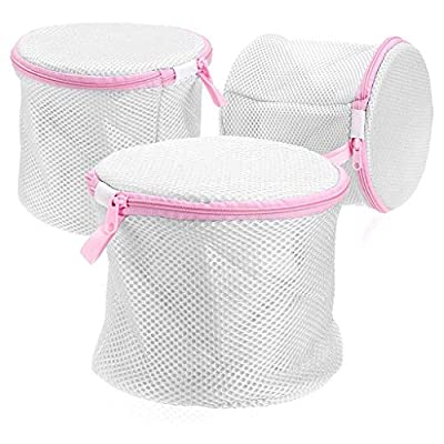 St@llion Delicate Bra Washing Bag High Permeability Sandwich Fabric Lingerie Laundry Bag Underwear Cloth Bag Net Mesh (Pack of 1)