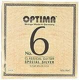 オプティマ(OPTIMA)ギター弦 No6.SCHT スペシャルシルバー・ナチュラルカーボン・ハイ セット