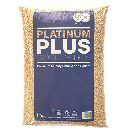 Platinum Plus Holzpellets 6mm EnplusA1 Biomasse Pellets 1x 15Kg