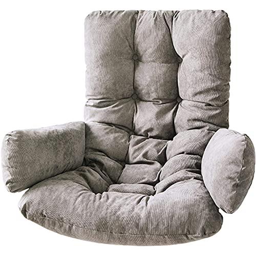 Cojín para columpio para colgar en la cesta, grueso y de alta resiliencia Cojín para columpio de pana Cojín para sofá y silla Cojín para silla con cáscara de huevo Cojín para silla de hamaca para in