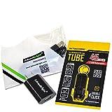 EdisonBright Nitecore Tube (Black) 45 Lumen USB Rechargeable Keychain Light, USB Charger USB Cable Bundle