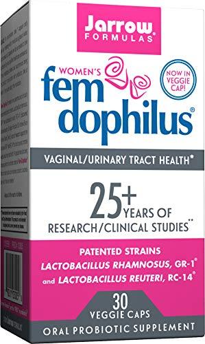 Jarrow Formulas Fem-Dophilus, 5 Billion Organisms Per Cap, for Vaginal and Urinary Tract Health, 30 Count (Cool Ship, 3 Pack)