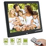 LONGSEA Digitaler Bilderrahmen Full HD 8,7 Zoll 1024x768 IPS Hochauflösender Foto Musik...